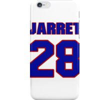 National Hockey player Jarret Stoll jersey 28 iPhone Case/Skin