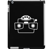 Viewmaster White iPad Case/Skin