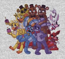 FNAF- The Gang's All Here Kids Clothes