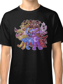 FNAF- The Gang's All Here Classic T-Shirt