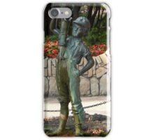 The Boy With the Leaking Boot iPhone Case/Skin