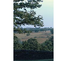 countryside as far as you can see Photographic Print