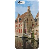 A Canal in Bruges iPhone Case/Skin