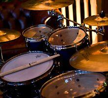 Golden Drums II by Tom Allen