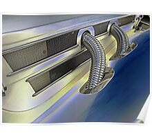 Vintage Exhaust Poster