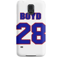 National Hockey player Boyd Kane jersey 28 Samsung Galaxy Case/Skin