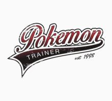 Pokemon Trainer_Red_Vintage Kids Clothes