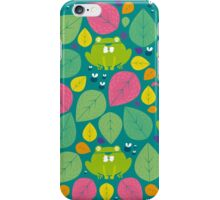 Frog Pattern iPhone Case/Skin