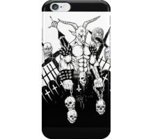 Baphomet BW iPhone Case/Skin
