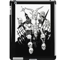 Baphomet BW iPad Case/Skin