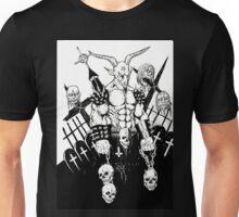 Baphomet BW Unisex T-Shirt