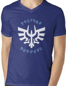 Knights Academy Logo Mens V-Neck T-Shirt
