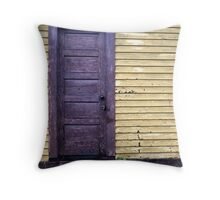 Purple Door Throw Pillow