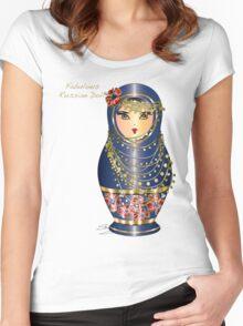 Fabulous Russian Dolls Women's Fitted Scoop T-Shirt