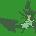 Mega Tree Lizard by Hadam10Rose