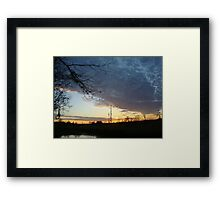Sunset Extravaganza Framed Print