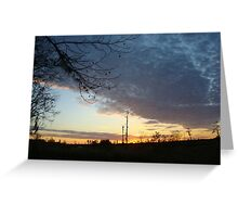 Sunset Extravaganza Greeting Card