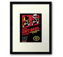 Super Daft Bros. Framed Print