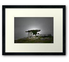 Poulnabrone Framed Print
