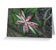 Jungle Flower Greeting Card