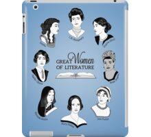 Great Women of Literature iPad Case/Skin