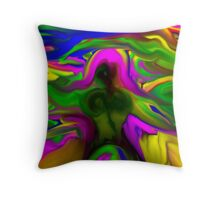 Movement in Color. Throw Pillow
