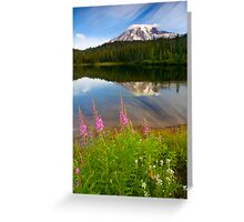 Fireweed Reflections Greeting Card