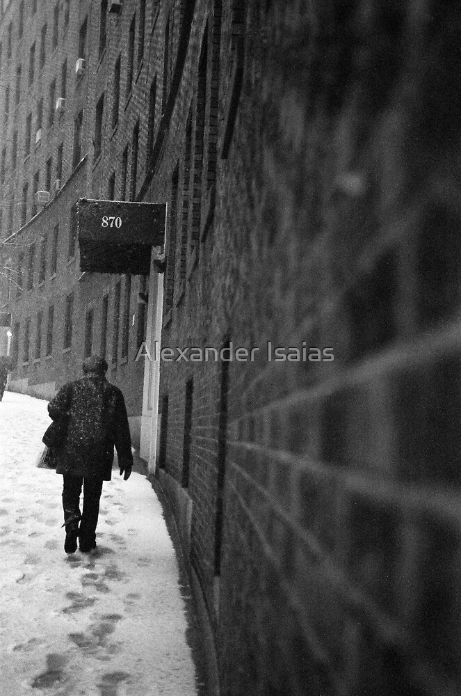 Footsteps in the Snow by Alexander Isaias