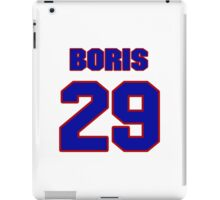 National Hockey player Boris Mironov jersey 29 iPad Case/Skin