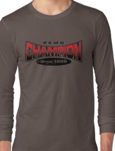 Pokemon Champion_Red Long Sleeve T-Shirt