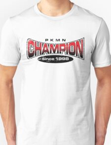 Pokemon Champion_Red T-Shirt