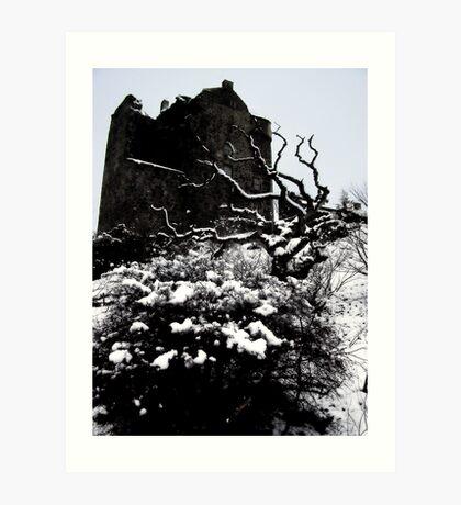 Neidpath Castle Art Print