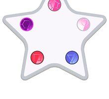 Crystal Gem Door by gabbydesigns