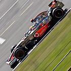 Lewis Hamilton - Silverstone 2008 by Tom Allen