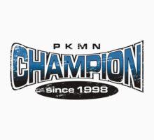Pokemon Champion_Blue by Jemma Richmond