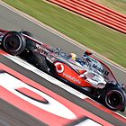 Lewis Hamilton - Silverstone 2008 IIII by Tom Allen