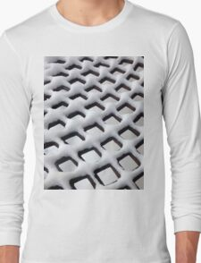 Snow Grid Long Sleeve T-Shirt