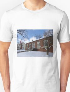 New Concord Post Office in Winter Unisex T-Shirt