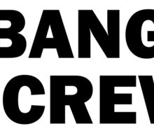 Bang Screw Shirt Sticker
