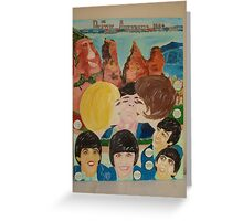 The Beatles & Sisters Australiana 1964 : Feelings Greeting Card