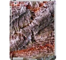 Textured Cork Tree Abstract iPad Case/Skin