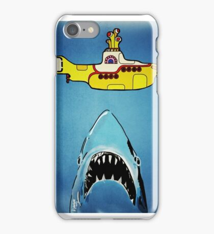 Jaws-Yellow Submarine  iPhone Case/Skin