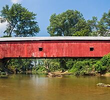 Putnam County Covered Bridge by Kenneth Keifer