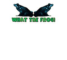 what the frog! Photographic Print