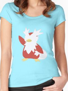 The Xmas Bird Women's Fitted Scoop T-Shirt