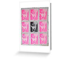 Andy Warhol Barbie Greeting Card