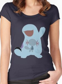 The Slimy Water Pika Women's Fitted Scoop T-Shirt