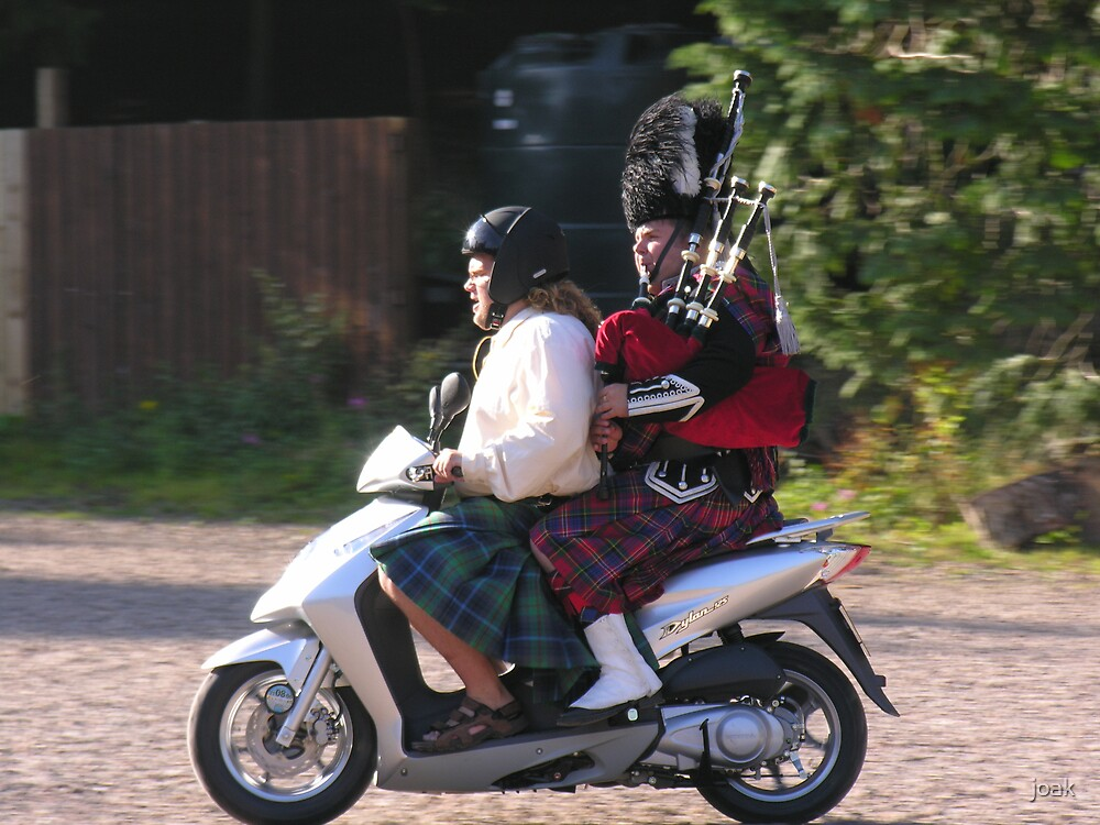 highland charge!! by joak