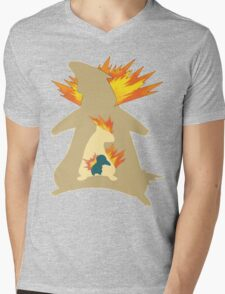 The Fire Mole Mens V-Neck T-Shirt