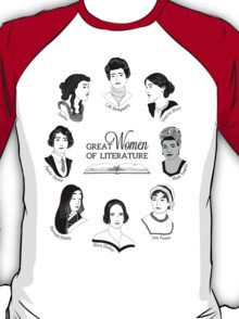 Great Women of Literature T-Shirt